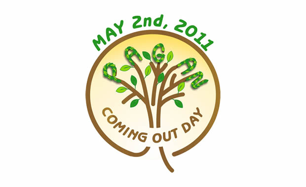 Pagan Coming Out Day logo